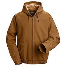 Bulwark® Hooded Brown Duck Jacket HRC3
