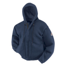 Bulwark® Fleece Zipper Front Sweatshirt HRC2