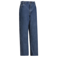 Bulwark® Stone Washed Loose Fit Denim Jean HRC2
