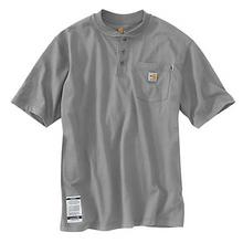 Flame Resistant Force Cotton Short-Sleeve Henley