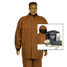 NSA HRCD NOMEX Short Coat and Bib Kit 100cal