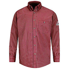 6.5 OZ. Plaid Dress Shirt