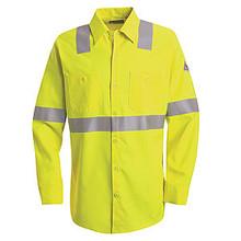 Hi-Visibility Flame-Resistant Work Shirt
