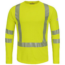 Hi-Visibility Flame Resistant Long Sleeve T-Shirt