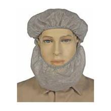NSA Gray NOMEX Knit Beard Net