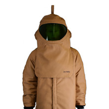 NSA HRCD NOMEX Hood with Faceshield and Internal Fans