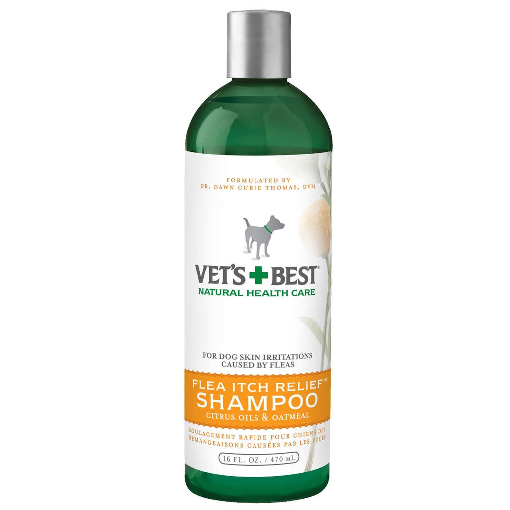 Vet's Best Flea Itch Relief Dog Shampoo 16oz