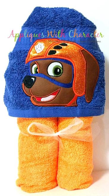 Pup Patrol Zoomy Peeker Applique Design