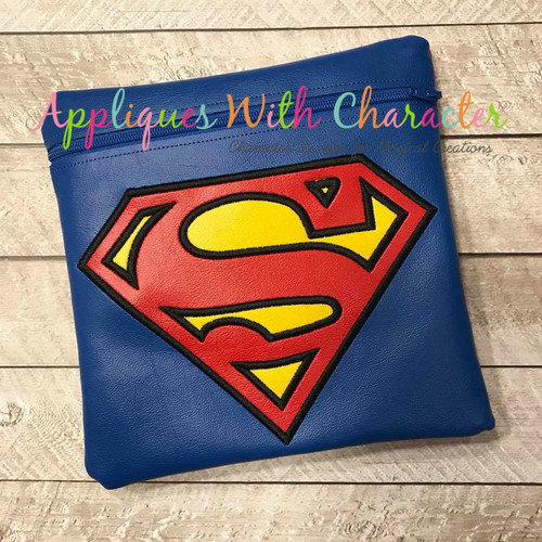 Super Hero Applique Design