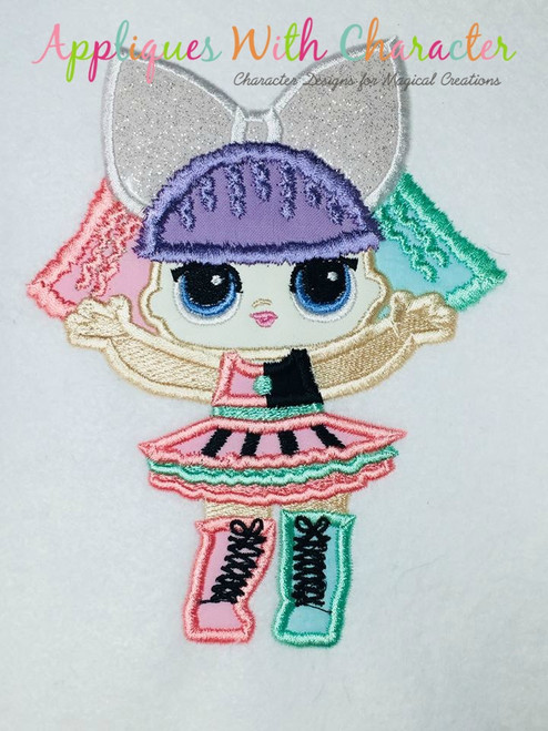 Pranksta Doll Applique Design