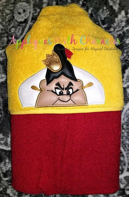 Alyce Queen of Harts Peeker Applique Design