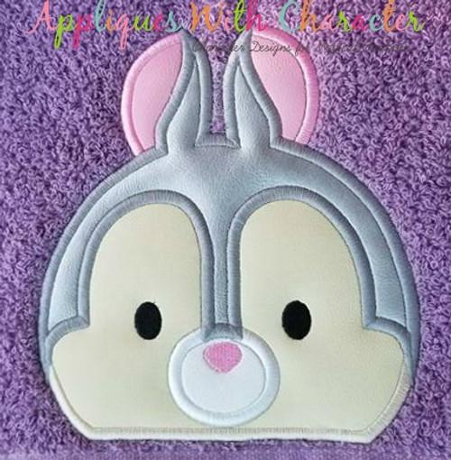 Bambie Thumper Peeker Applique Design