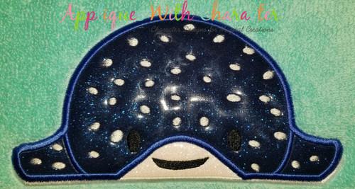 Finding Dorie Stingray Peeker Applique Design