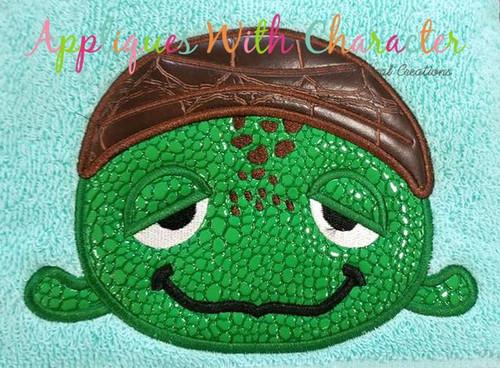 Finding Dorie Crush Turtle Tsum Tsum Applique Design