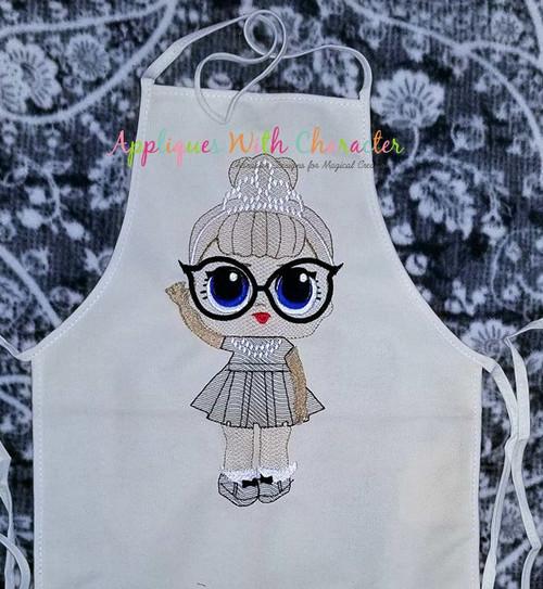 IT Baby Audrey Hepburn Bean Stitch Design