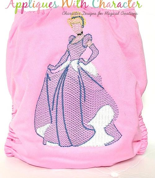 Cindy Princess Bean Stitch Design