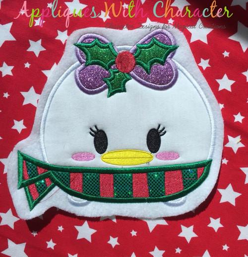 Christmas Daizy Tsum Tsum Applique Design