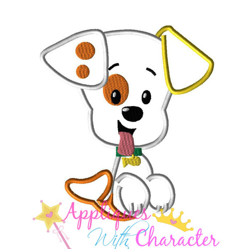 Bubble Puppy Applique Design