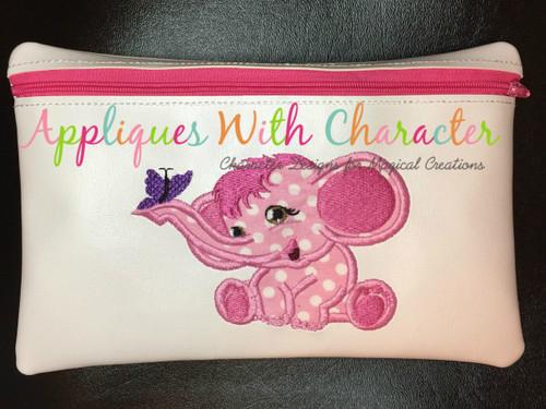 Elephant Applique Design