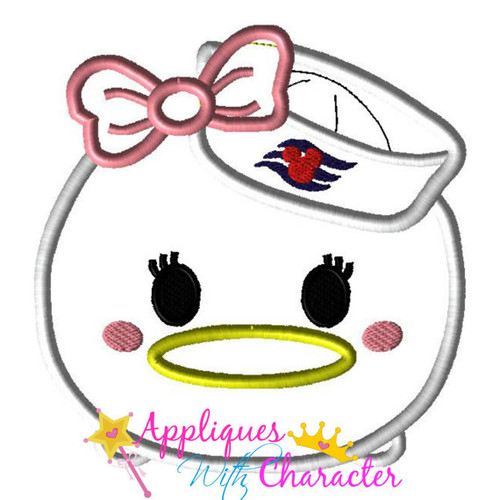 Daisy Duck Cruise Tsum Tsum Applique Design