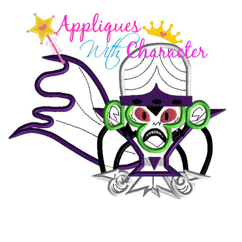 Mojo Puff Power Girls Applique Design