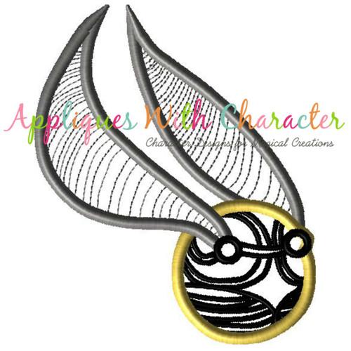 Harry Wizard Ball Applique Design