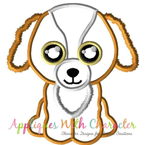 Beanie Dog Tala  Applique Design