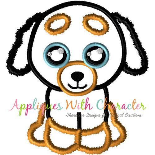 Beanie Doggy Applique Design