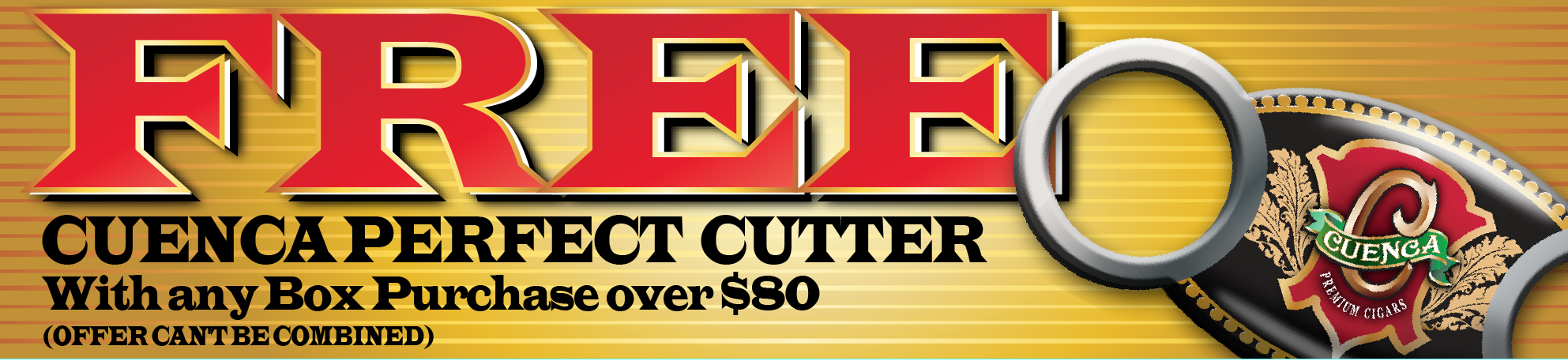 free cuenca perfect cutter when you spend over 80