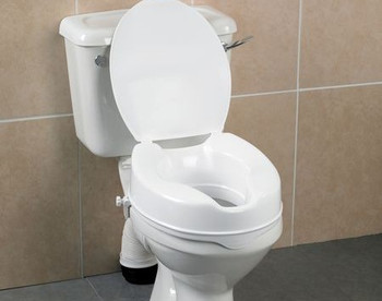 Days Deluxe 10cm/4 Raised Toilet Seat (With Lid)