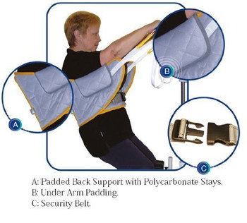 Mackworth Standaid Sling with Back Support