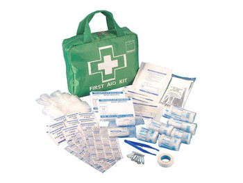Steroplast Premium 70 Piece First Aid Kit Bag