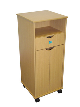 Sidhil Hospital Style Bedside Cabinet.