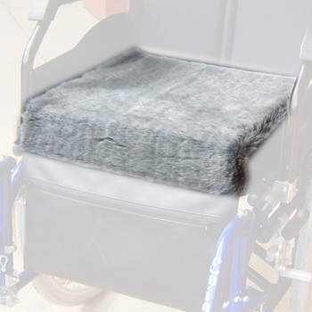 Deluxe Fleece Covered Foam Wheelchair/Seat Cushion