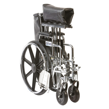 Sentra HD Heavy Duty Self Propel Wheelchair