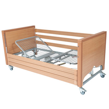 Casamed Supreme Profiling Bed With 3-Bar Wood Siderails