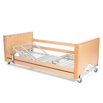 The Encore Classic Beech Electric Profiling Hospital / Care Bed
