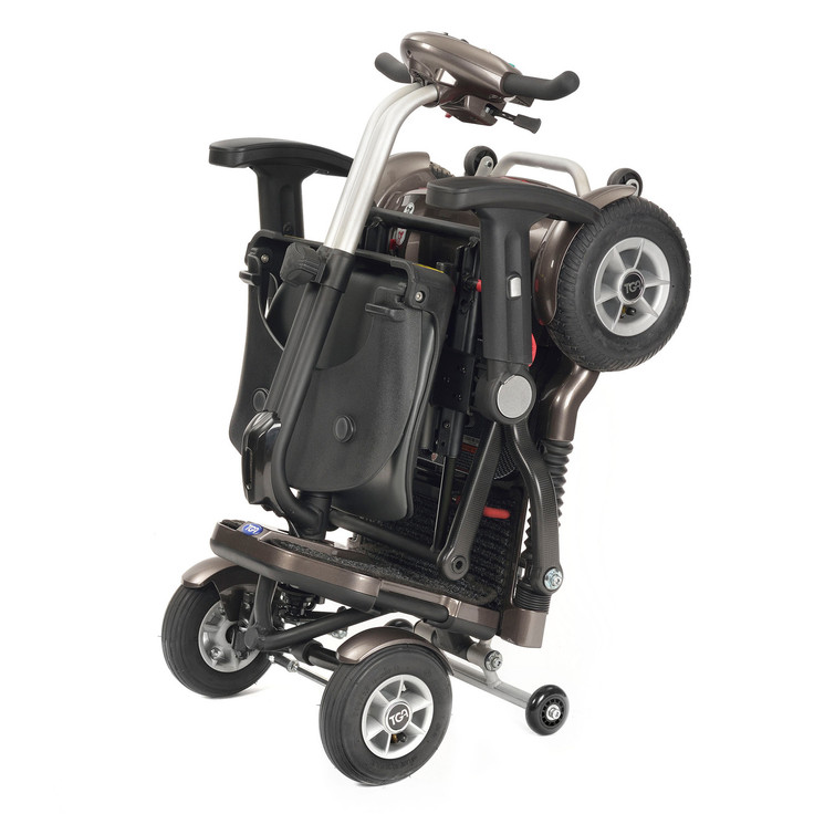 TGA Minimo Plus 4 Folding Portable 4mph Scooter