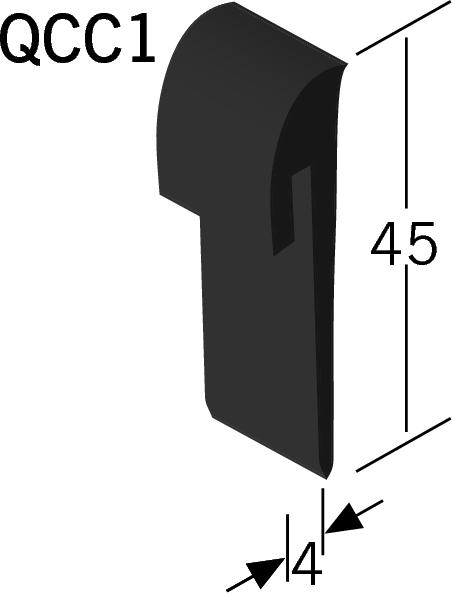 Quantum Capping Strip