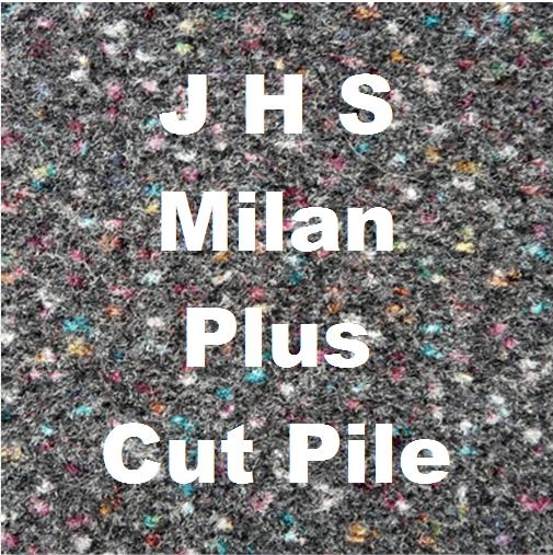 J H S Milan Plus Cut Pile Carpet