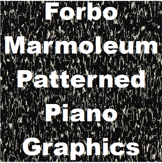 Forbo marmoleum patterned Graphics | Piano