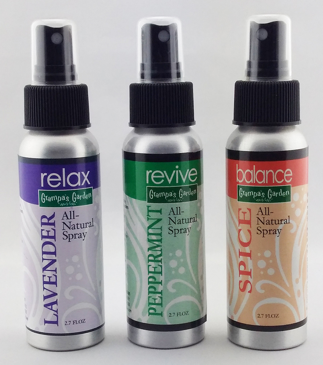 All Natural Spray Set