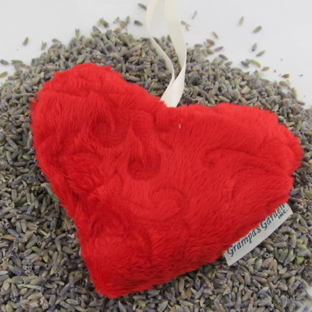 Soft Red Plush Heart