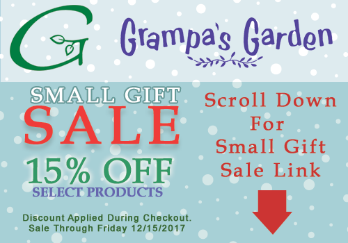 Small Gifts Sale - Save 15% on Select Products