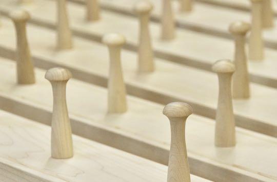 Premium Hardwood Pegs