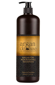 Argan Oil Nourishing Shampoo Sulfate Free Cleans and Nourishes This Argan Oil shampoo gently cleanses the hair fiber, provides softness and detangles.  Hair is nourished with Vitamin E, Omega 3 and Omega 9, and looks healthy and shiny from roots to ends.