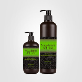 Macadamia Nourishing Shampoo is designed to all hair types and is excellent for dry, damaged hair. Gently cleanses chemically treated, damaged hair. Replenishes moisture with no heavy build-up. Protects from harsh daily environmental elements.  Directions Apply to wet hair and lather with a gentle massaging motion. Rinse thoroughly and repeat if necessary. 500ml