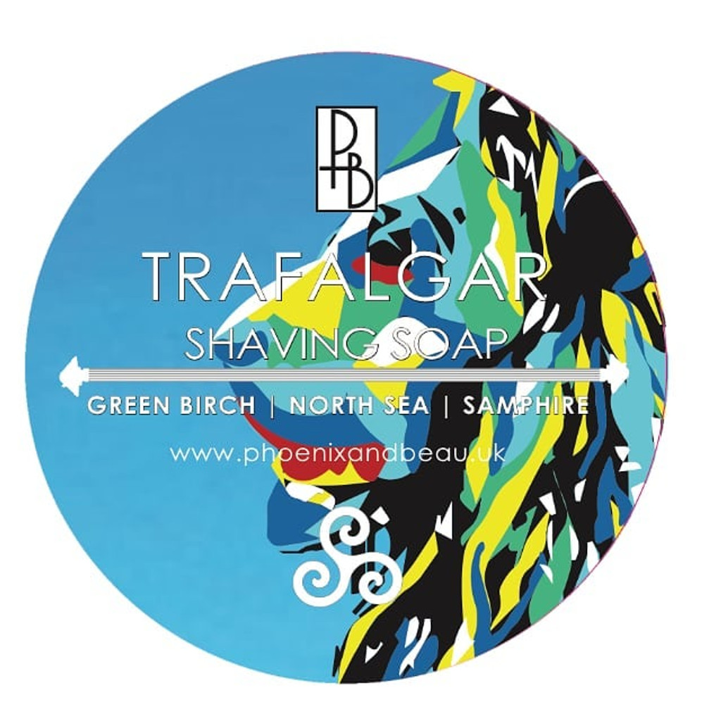 Phoenix & Beau Trafalgar Shaving Soap | Agent Shave | Traditional Wet Shaving