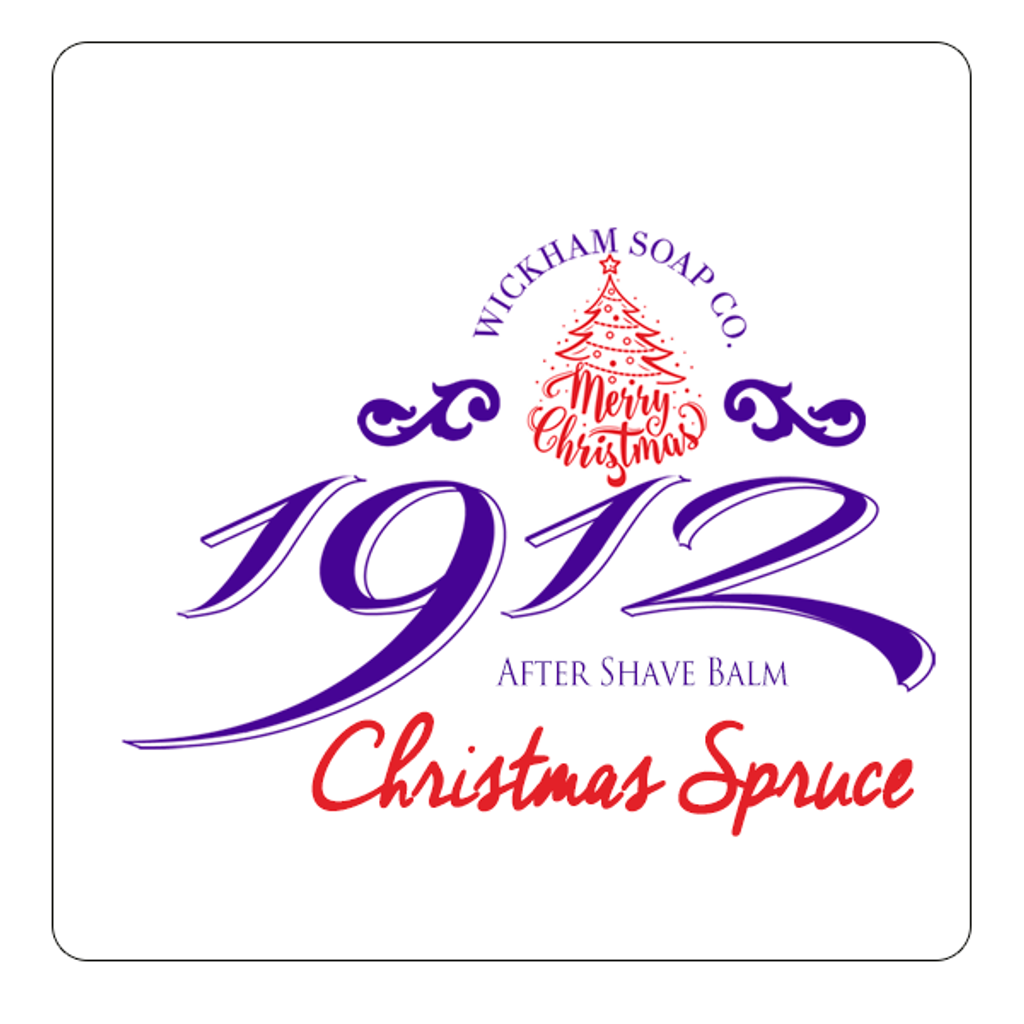Wickham Soap Co 1912 Aftershave Balm - Christmas Spruce | Agent Shave