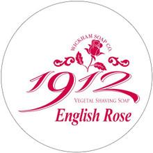 Wickham Soap Co Vegetal Shaving Soap - English Rose   Agent Shave